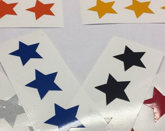 50 Highly Reflective Stars - 8 colors