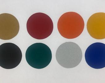 50 Reflective Dots- 8 colors - Self Adhesive