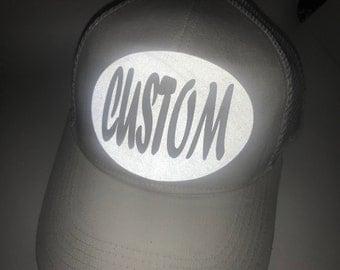 Custom Reflective Cap