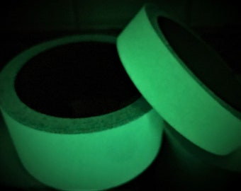 Glow in the Dark Tape - (sold by the yard)