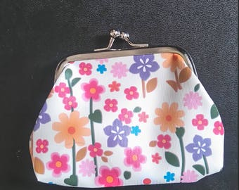 """small coin purse """"flowers"""""""