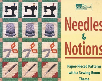 Needles and Notions Book Paper Pieced Patterns