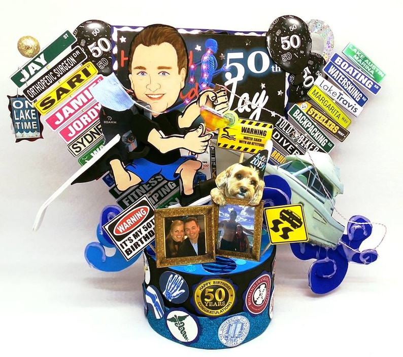 50th Birthday Gift For Men Adult Party Unique