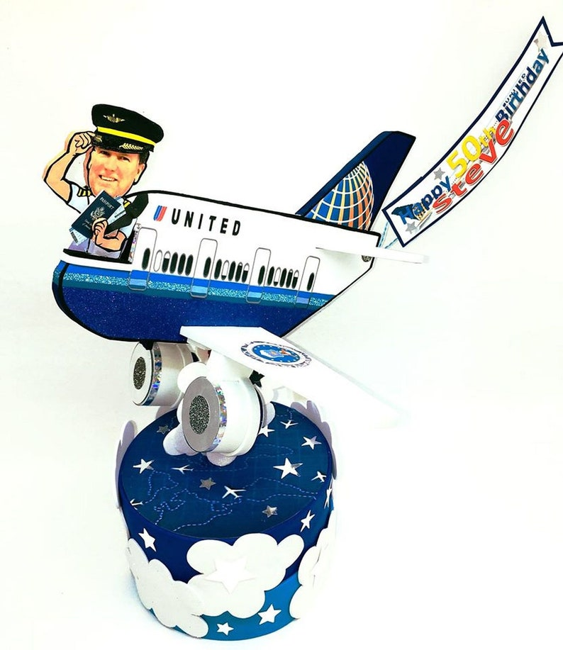 Unique Gifts For Husband Men 50th Birthday Airplane Party