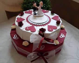 Hochzeitstorte Geldgeschenk | Hochzeitstorte Geldgeschenk 3stock Mint Creme Etsy