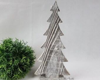 Holz Tannenbaum Groß.Weihnachtsbaum Aus Holz Etsy