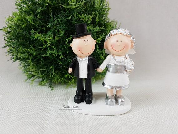 CREApop ® Wedding Couple Wedding Couple in Ring 5 cm