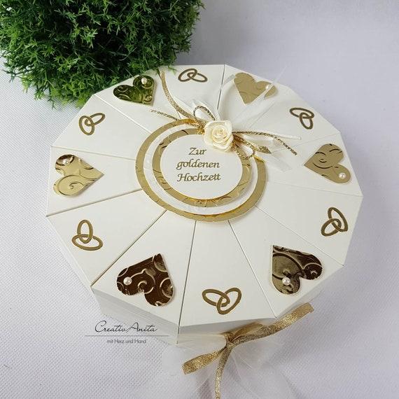 Hochzeitstorte Torte Goldene Hochzeit Geldgeschenk Etsy