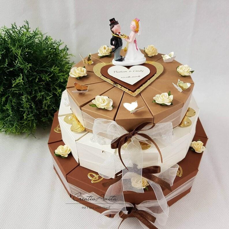 Hochzeitstorte Geldgeschenk