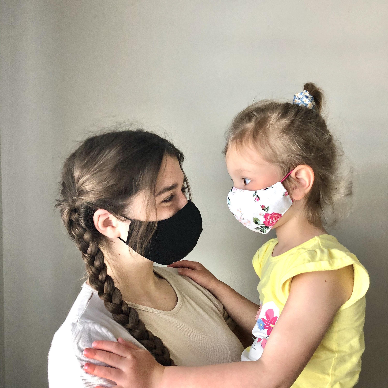 Kids Reusable Washable Cotton Face Mask