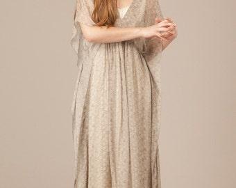 17bd82891cf Erline Long Pure Silk Dress with slip. Long Silk Maxi Dress. Long silk Dress.  Resort wear