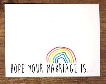 Gay Wedding Card, Gay Wedding Gift, Mr and Mr Wedding, Mr and Mr Card, Mrs and Mrs Wedding, Gay Wedding Present, Gay Wedding, Gay Engagement