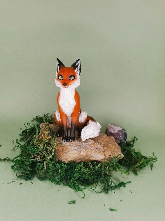 little Fox figurine   FREE SHIPPING