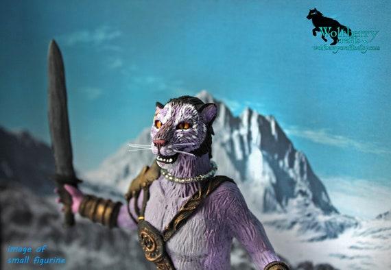 Khajiit Inigo, Skyrim fandom furry figurine