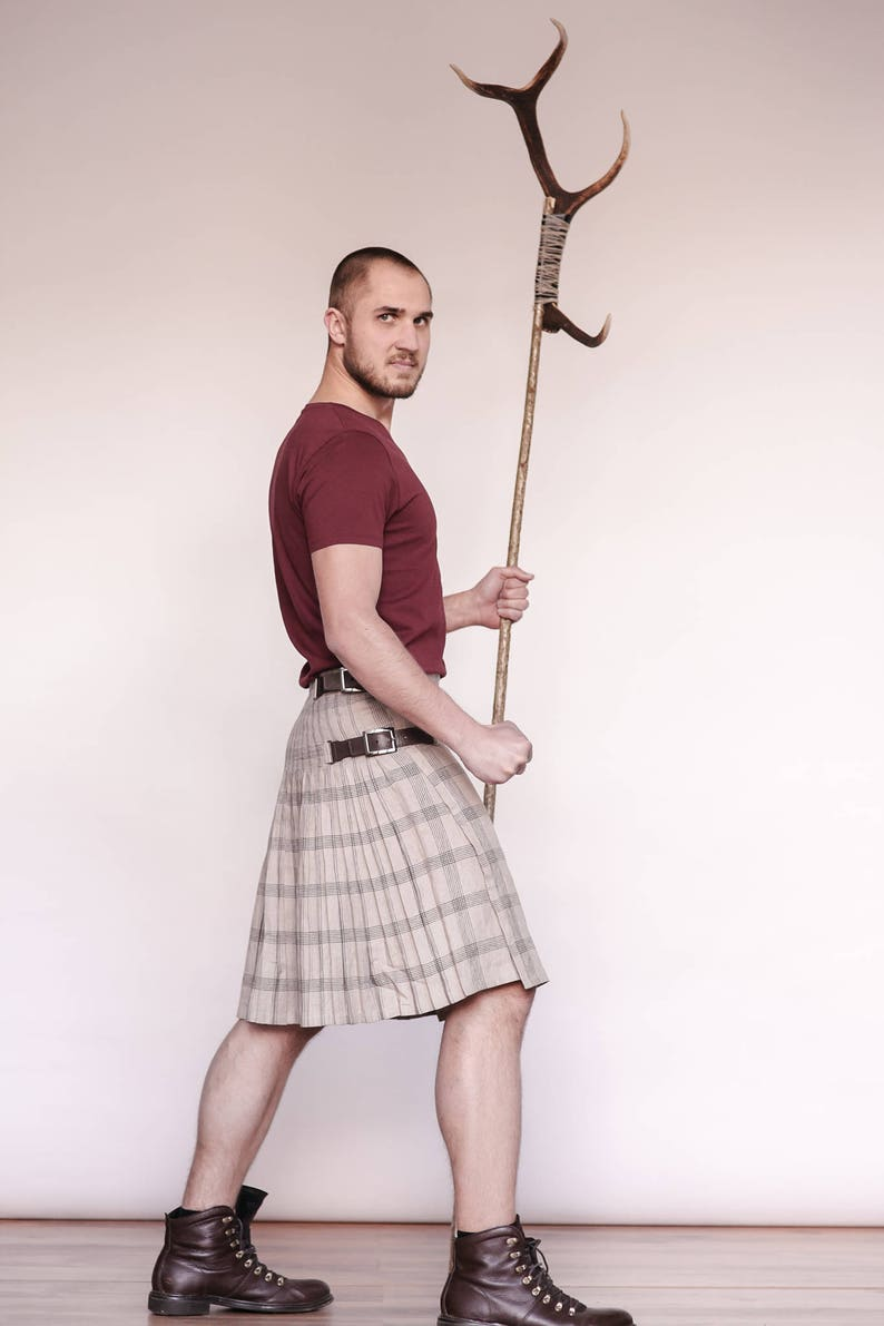 abdb840cff4 Linen kilt kilt skirt kilts madmax mad max burningman