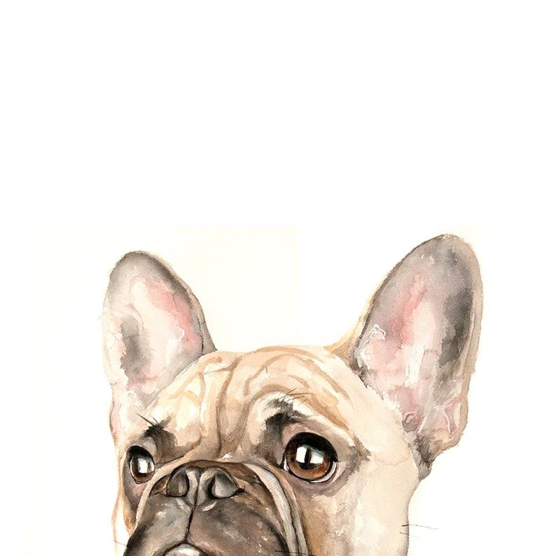 9b2e7936380e Cat portrait Memorial dog PEEKABOO Custom portraits Dog | Etsy