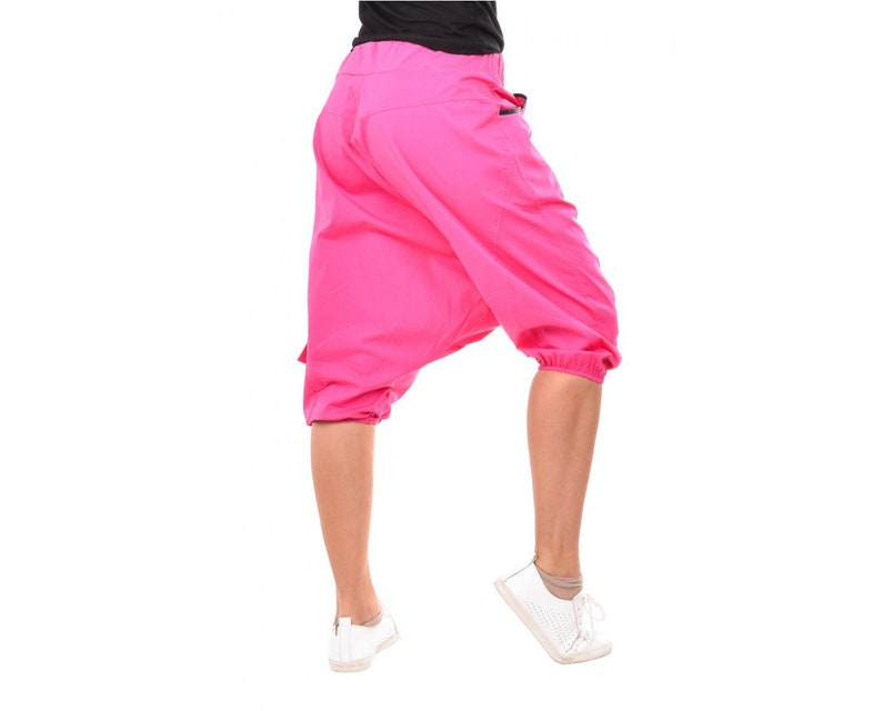 Capri Harem Drop Crotch Trousers Wide Leg Pants Plus Size Maxi Pants Drop Crotch Pants Stylish Harem Black Harem Boho Pants