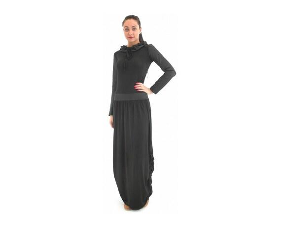 2063065fd616 Loose Fit Dress Black Loose Dress Balloon Dress Tent Dress