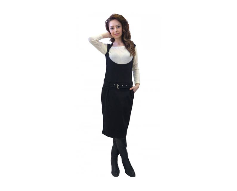 c2add30d822 Plus Size Maxi Overall Dress Black Overall Dress Black