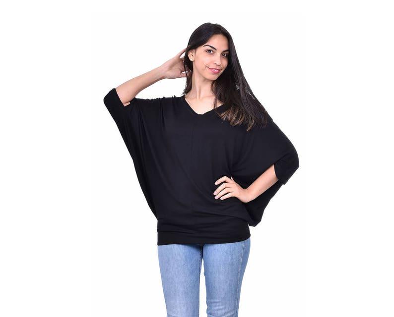 c36bf124f61 ... Clothing Source · Bat Sleeve Blouse Plus Size Maxi Blouse Bat Sleeve Top  Etsy