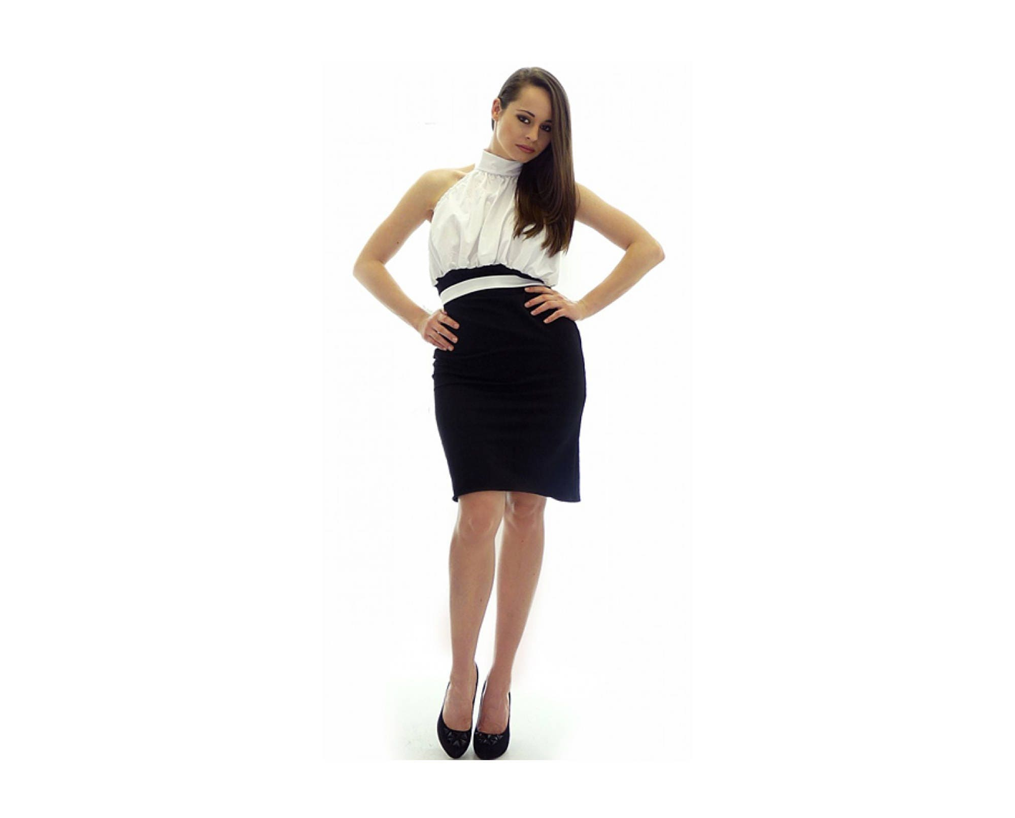 Black And White Themed Party Dresses Dacc