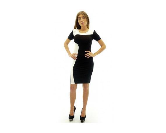 Knee Length Bodycon Jersey Dress