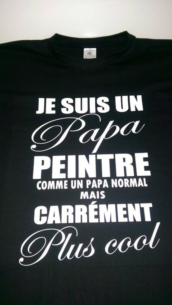 Tee-shirt noir homme papa routier du S au 4XL, t-shirt idée idée t ... 4d5017df8b7