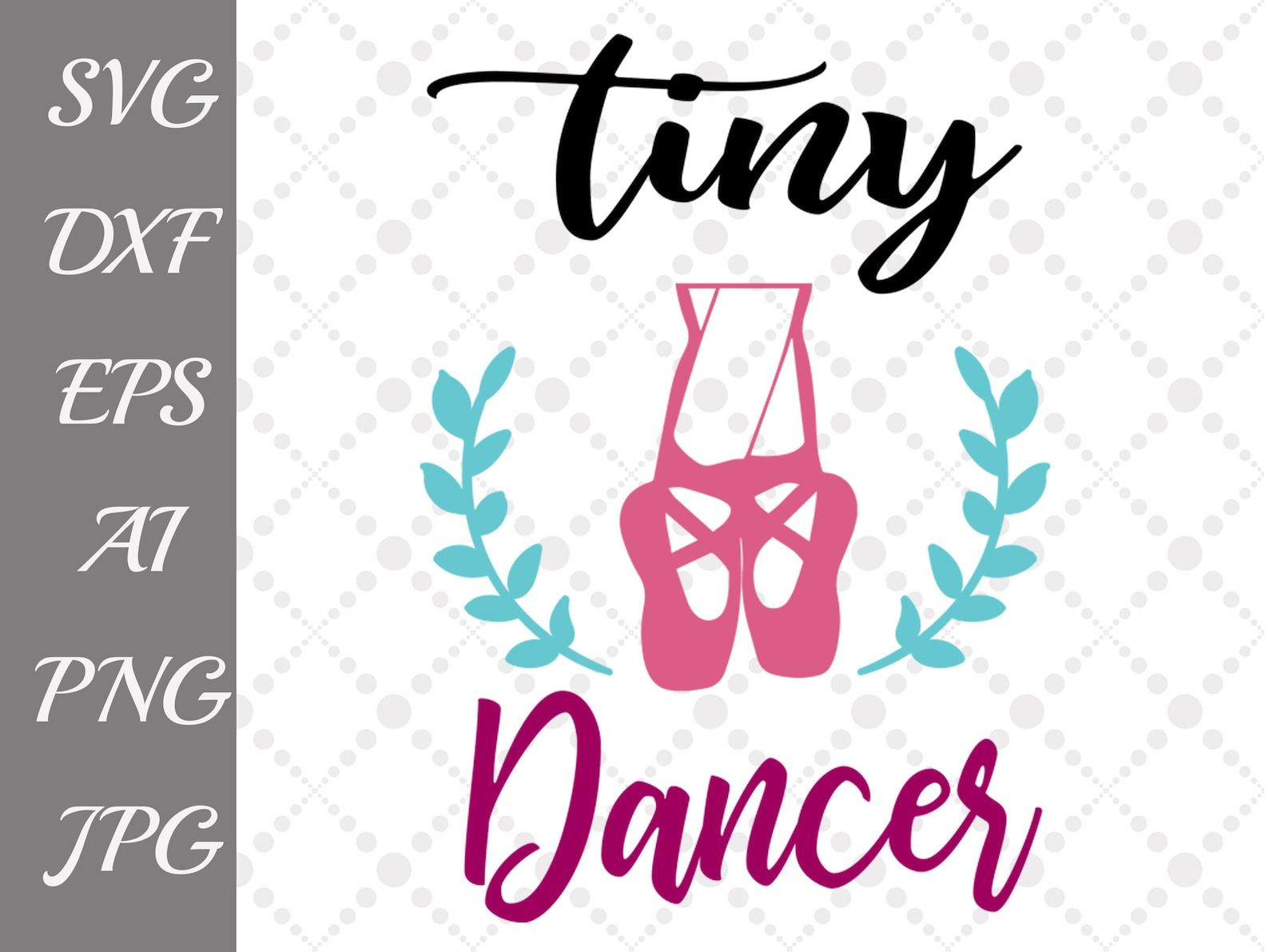 tiny dancer svg: