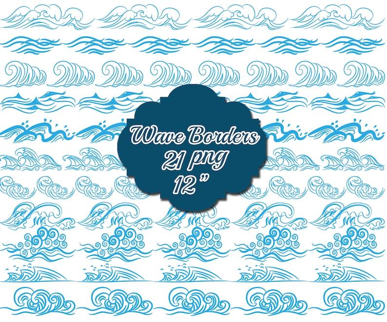 Grenzen Clipart Grenze ClipartBlue Doodle Nautische Gruß Wasser ClipartIllustrationMeereswelleStrand Welle gvf7yYb6