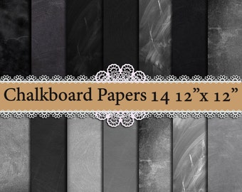 "Chalkboard digital paper: ""CHALK BACKGROUND""  Chalkboard texture,Black chalkboard,Blackboard digital,Chalkboard Scrapbook, blackboard paper"