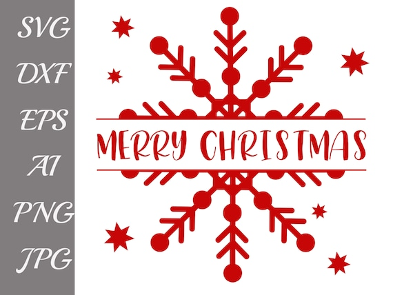 Frohe Weihnachten Philippinisch.Frohe Weihnachten Svg Schneeflocke Svg Weihnachten Schneiden Datei Winter Svg Dateien Urlaub Svg Weihnachten Dxf Cricut Design