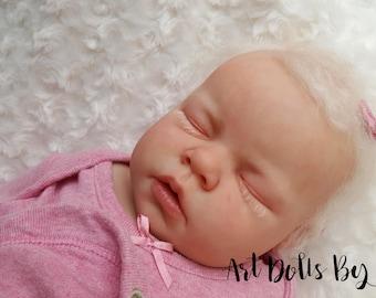 CUSTOM REBORN BABY ~ Noah Asleep By Reva Schick ~ 6 month layaway