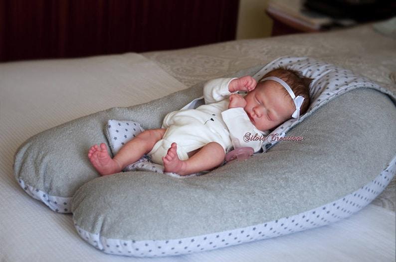 CUSTOM REBORN BABY  Ashley Asleep By Realborn  6 month image 0