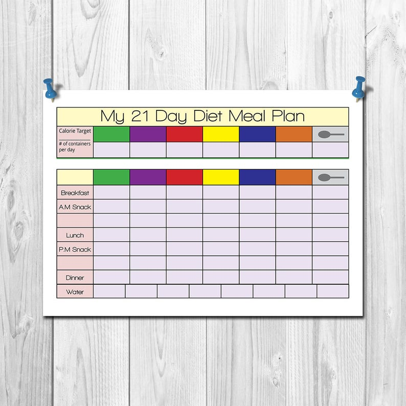 photo relating to Food Calorie List Printable known as 21 working day food plan Dinner Application, Food stuff checklist, Purchasing Record, Printable