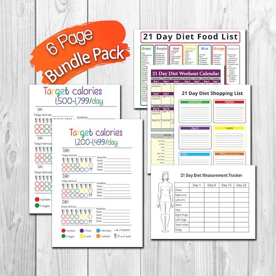 Diät 2500 Kalorien pdf