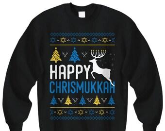 Hanukkah Sweater Etsy
