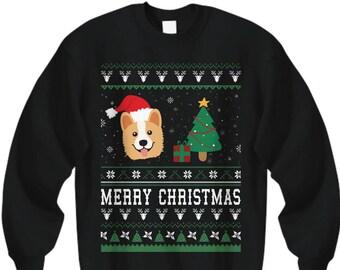 more colors merry christmas corgi corgi