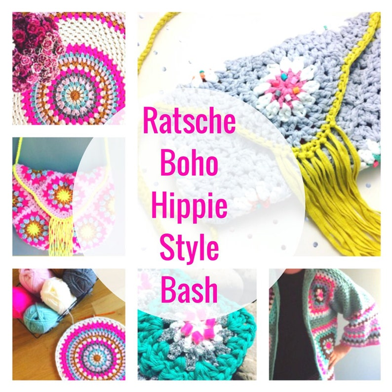 Ratsche Boho Hippie Style Bash 5 Tutorials in english with image 0