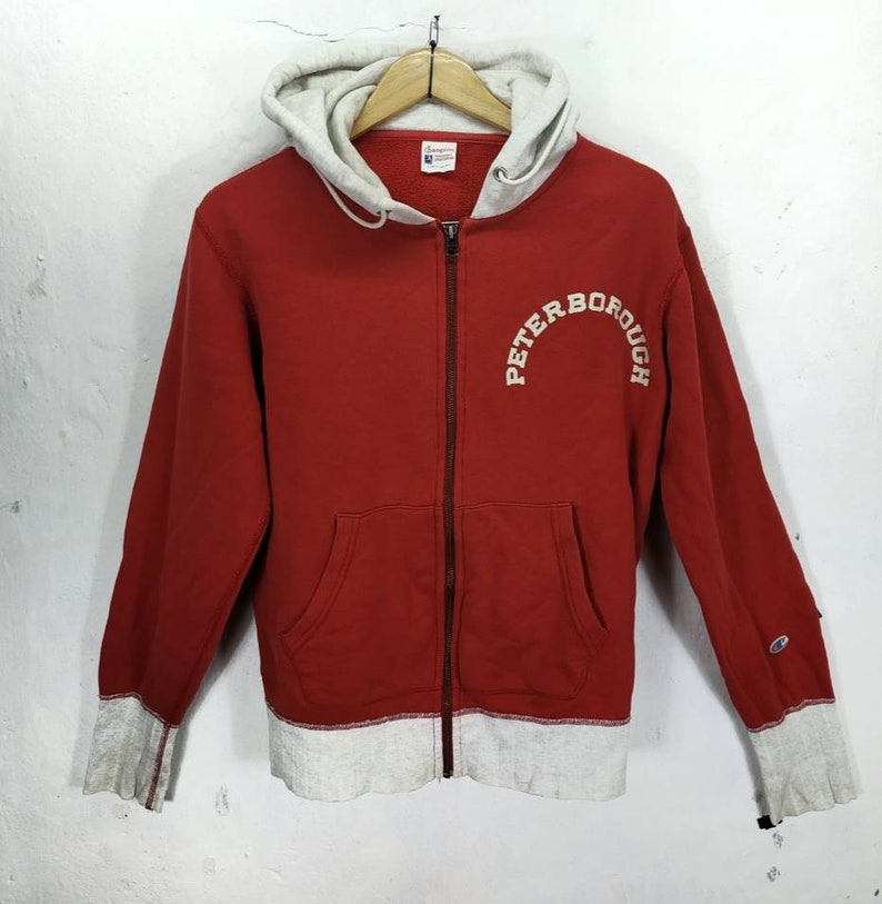 1aba3cf8961e RARE VINTAGE Champion Peterborough Big Spell Out Hoodies.