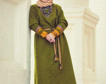 Slavic warm dress