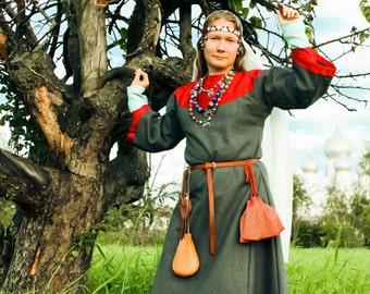 Dalmatica (upper dress, Slavic dress, 11-13 c)/Далматика (Русь, 11-13 вв)