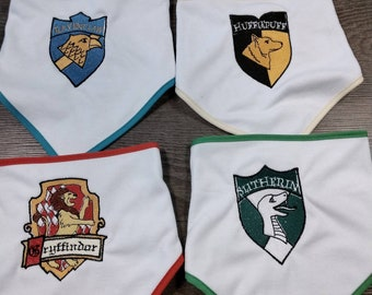 Embroidered Dribble Bibs