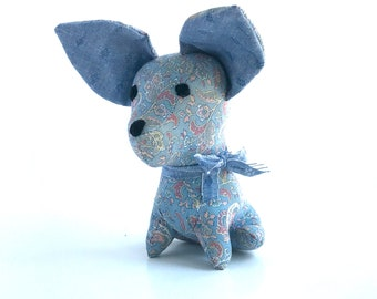 Blue Paisley Chihuahua