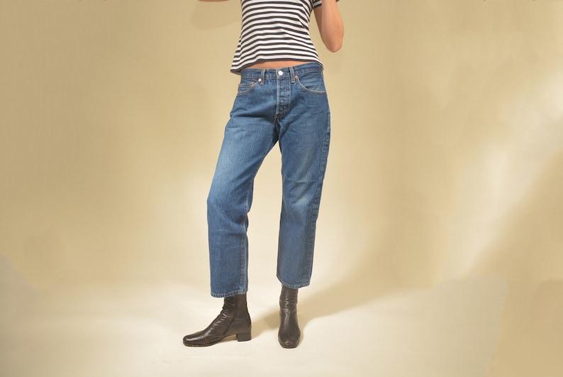 d1b62637 Vintage Levi's 501s crop Levis 701 skinny high waist | Etsy