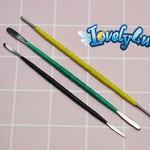 LoveLy4u Sculpting steel spatula tool set