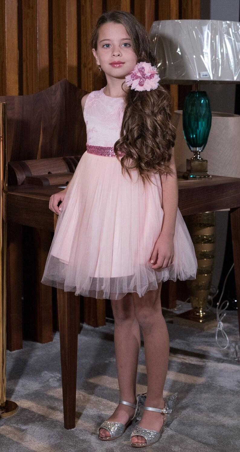 8991cc3e059 Robe rose robe de paillettes Sequins roses robe fête de
