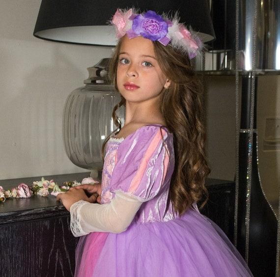 Rapunzel Dress Rapunzel Princess Princess Dress Disney Etsy
