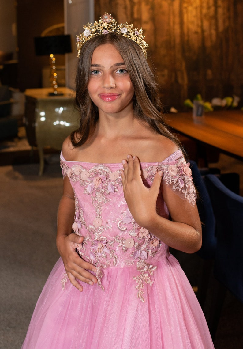 Purple Flower Dress Dress for Girl Purple Birthday Dress Purple Dress Flower Girl Dress Flower Dress Light Purple Flower Girl Dress