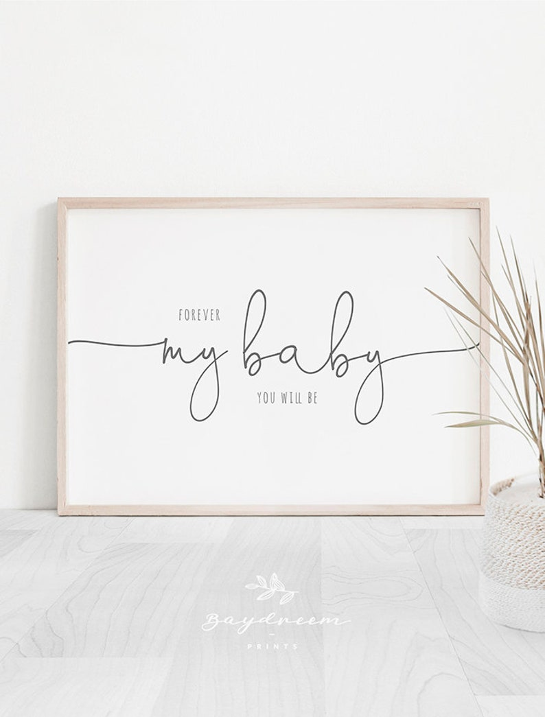 photo regarding Quotes Printable named Endlessly my youngster your self will be Printable, Nursery Estimates Printable, Revolutionary Nursery Prints, Nursery Estimate Print, Endlessly my little one youll be Print