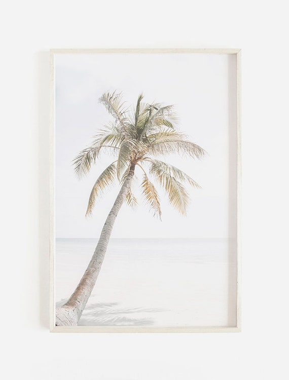 picture regarding Palm Tree Printable referred to as Palm Tree Print, Tropical Seaside Wall Artwork Palm Tree Printable, Pastel Seashore Prints, Palm Tree Poster, Tropical Beach front Print Palm Tree Wall Artwork